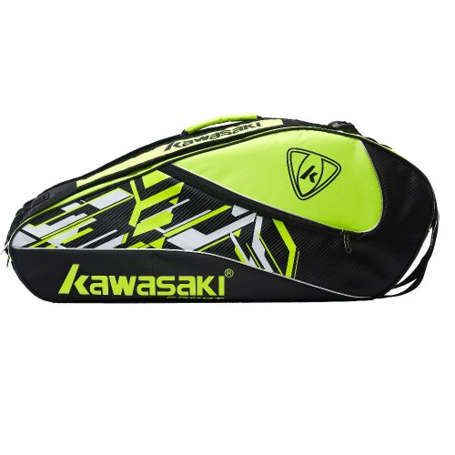 Kawasaki Badminton Kit Bag KBB 8665 Black Green