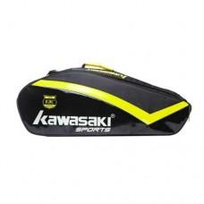 Kawasaki Badminton Kit Bag  KBB-8667 Black+Yellow