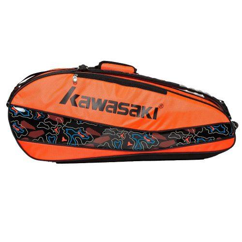 Kawasaki Badminton Kit Bag KBB 8677 Black Orange