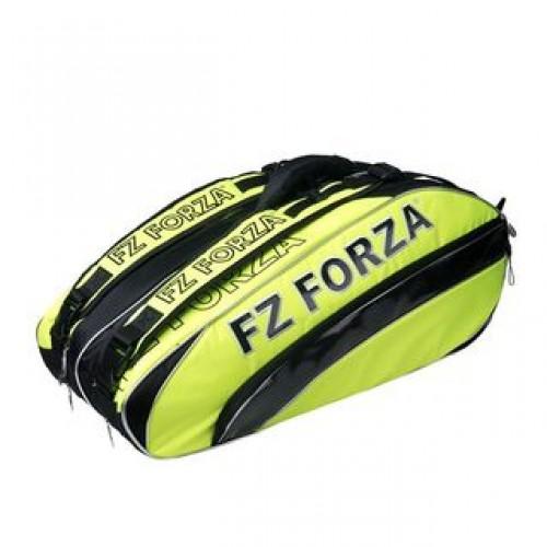 Forza Badminton Kit Bag Memory 9pcs racket bag Safety Yellow