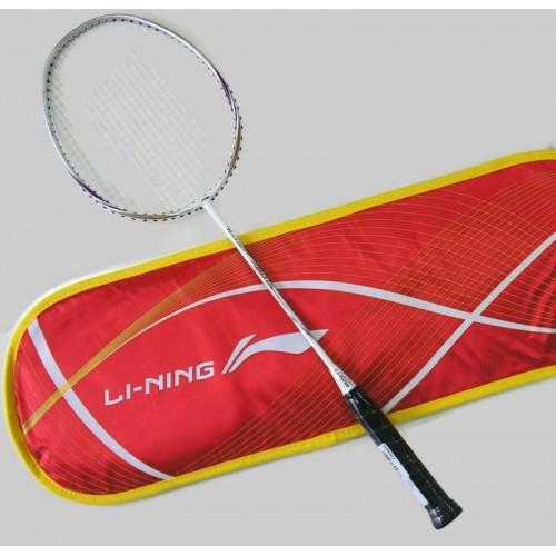 Li-Ning Badminton Racket Turbo X-60-G4 White/Silver
