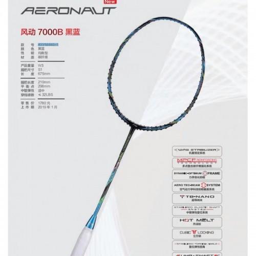 Li-Ning Badminton Racket AERONAUT 7000 Boost