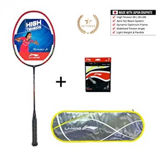 Li-Ning Badminton Racket Turbo X-50-G4  Black