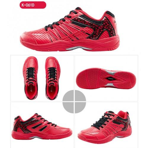 Kawasaki Badminton Shoes K 061 D Red UK 9